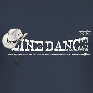 linedance T-Shirts - Men's Slim Fit T-Shirt
