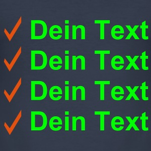 Liste - Männer Slim Fit T-Shirt