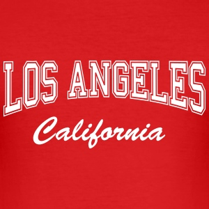 los_angeles_california T-Shirts - Männer Slim Fit T-Shirt