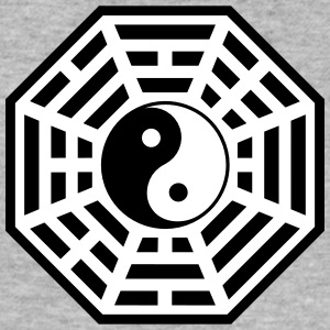 Bagua, Pakua,Yin Yang, Chi, Feng Shui, Martial Art T-Shirts - Men's Slim Fit T-Shirt