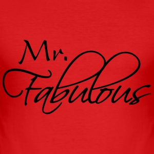 Mr Fabulous T-Shirts - Men's Slim Fit T-Shirt