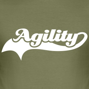 Agility T-Shirts - Männer Slim Fit T-Shirt