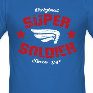 Super Soldier (inspired by Captain America) - Men's Slim Fit T-Shirt