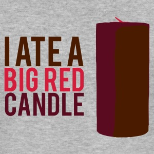 Brick Tamland 'I ate a big red candle' Tee - Men's Slim Fit T-Shirt