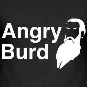 Angry Burd T-Shirts - Men's Slim Fit T-Shirt