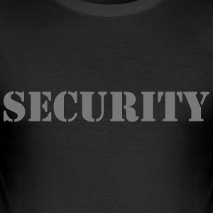 Security T-Shirts - Männer Slim Fit T-Shirt