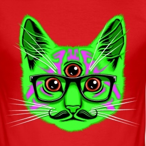 Trip Cat T-Shirts - Men's Slim Fit T-Shirt