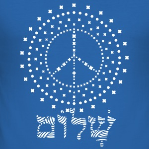 Shalom T-Shirts - Men's Slim Fit T-Shirt