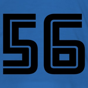 Sky blue 56 T-Shirts - Männer Slim Fit T-Shirt