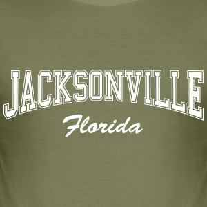 Jacksonville Florida T-Shirts - Men's Slim Fit T-Shirt