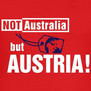 Not Australia but Austria T-Shirts - Männer Slim Fit T-Shirt