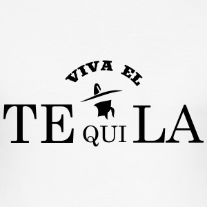 viva el tequila T-Shirts - Men's Slim Fit T-Shirt