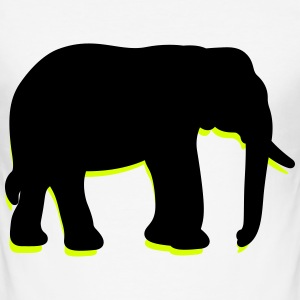 Elephant (2c)++2013 T-Shirts - Men's Slim Fit T-Shirt