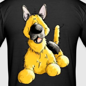 German Shepherd Dog - Breed - Dogs T-Shirts - Men's Slim Fit T-Shirt