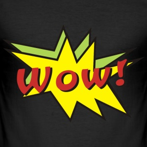 wow! T-Shirts - Men's Slim Fit T-Shirt