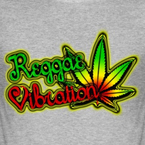 reggae vibration T-Shirts - Men's Slim Fit T-Shirt