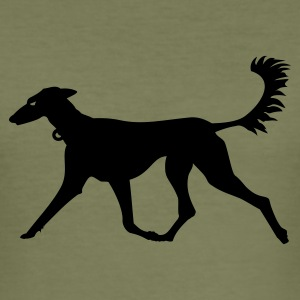 Camel Windhund / greyhound (1c) Men's T-Shirts - Men's Slim Fit T-Shirt