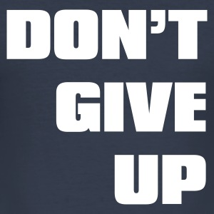Navy don't give up T-shirts - Tee shirt près du corps Homme