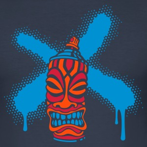 SPRAY A CROSS TIKI (N1 FR) - Tee shirt près du corps Homme