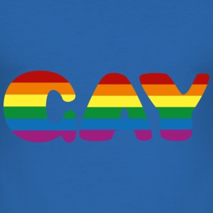 Gay T-shirts - Slim Fit T-shirt herr