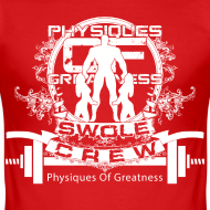 Design ~ Swole Crew White SHIRT