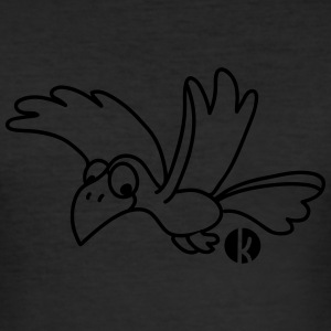 Rabe - Crow T-Shirts - Men's Slim Fit T-Shirt