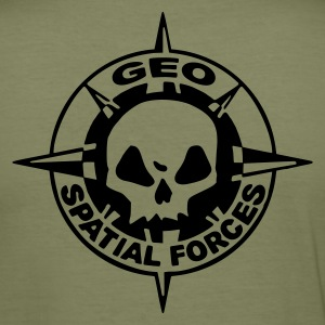 Geo Spatial Forces - Men's Slim Fit T-Shirt
