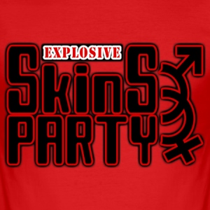 explosive skins party Tee shirts - Tee shirt près du corps Homme