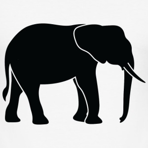 Elephant (dd)++2013 T-Shirts - Männer Slim Fit T-Shirt