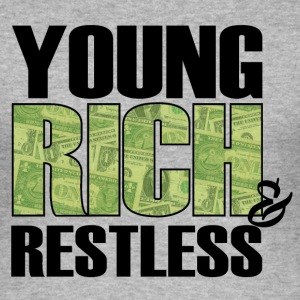 young, rich and restless Tee shirts - Tee shirt près du corps Homme