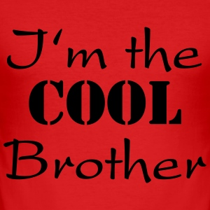 I'm the cool brother T-Shirts - Männer Slim Fit T-Shirt