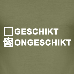 Ongeschikt - heren slim fit - slim fit T-shirt