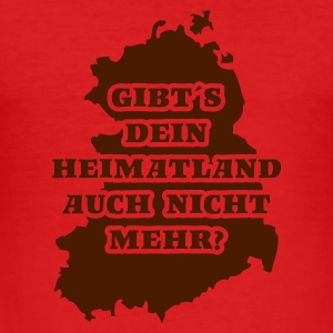 Dark orange DDR - dein Heimatland T-Shirts - Männer Slim Fit T-Shirt