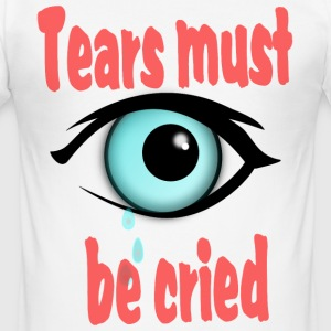 tears T-Shirts - Männer Slim Fit T-Shirt