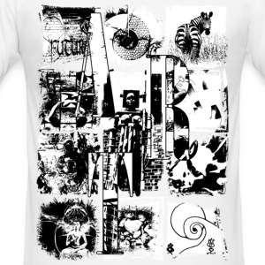 ARTcollage | Slim Fit Shirt - Männer Slim Fit T-Shirt