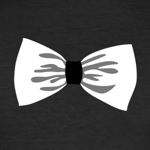 party bow tie - Men's Slim Fit T-Shirt