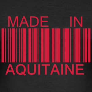 T shirt Made in Aquitaine - Tee shirt près du corps Homme