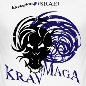 combat_kravmaga en - Men's Slim Fit T-Shirt