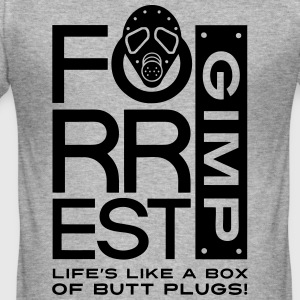 Forrest Gimp - Men's Slim Fit T-Shirt