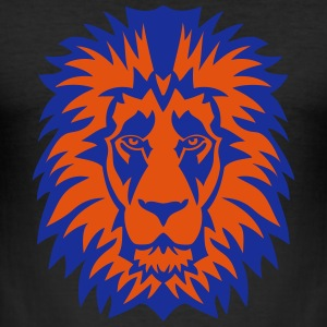 lion animal sauvage dessin 2205 Tee shirts - Tee shirt près du corps Homme