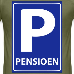 Pensioen T-shirts - slim fit T-shirt