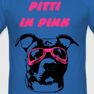 Pitti in pink T-Shirts - Männer Slim Fit T-Shirt