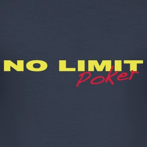 No limit, poker - Tee shirt près du corps Homme