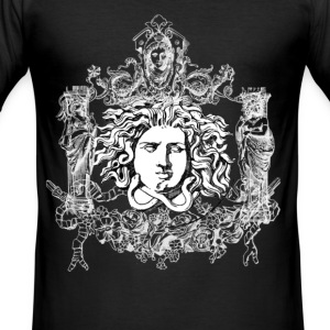 Medusa Men Classic T-Shirt - Männer Slim Fit T-Shirt