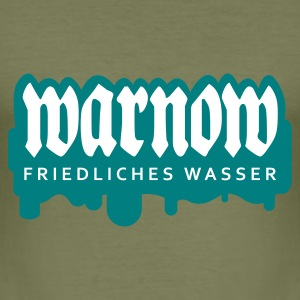 Olive warnow T-Shirts - Männer Slim Fit T-Shirt