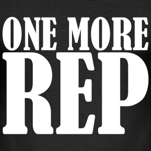 One More Rep Tee shirts - Tee shirt près du corps Homme