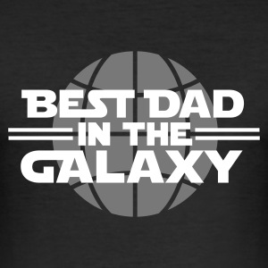 Best dad in the galaxy T-shirts - slim fit T-shirt