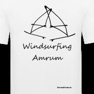Motiv ~ Windsurfing, Amrum-shirt (hinten)