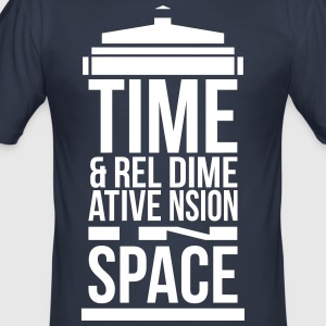 Tardis T-Shirts - Men's Slim Fit T-Shirt