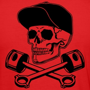 Skull & Pistons Tee shirts - Tee shirt près du corps Homme